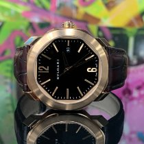 Bulgari Octo Or rose 41mm Brun France, Paris