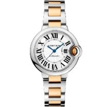 Cartier Ballon Bleu 33mm new 2021 Automatic Watch with original box and original papers W2BB0002