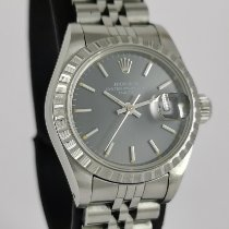 Rolex Oyster Perpetual Lady Date Acier 26mm Gris France, Paris