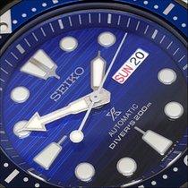 Seiko Prospex Aço 44mm Azul Sem números