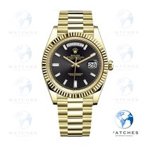 Rolex Day-Date 40 Yellow gold 40mm Black United States of America, New York, New York