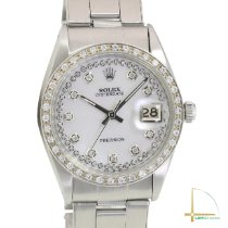 Rolex Oyster Precision Steel 34mm Mother of pearl No numerals United States of America, California, Los Angeles