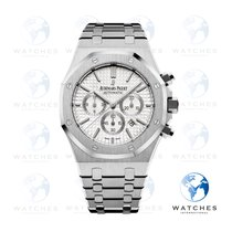 Audemars Piguet 26320ST.OO.1220ST.02 Steel 2015 Royal Oak Chronograph 41mm pre-owned United States of America, New York, New York