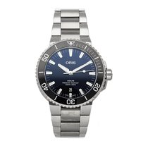 Oris Aquis Date Steel 43.5mm Blue No numerals United States of America, Pennsylvania, Bala Cynwyd