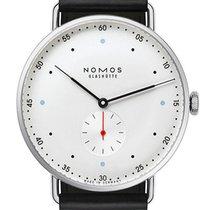 NOMOS Metro 38 Acier 38,5mm Blanc