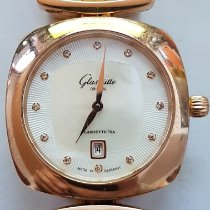 Glashütte Original Pavonina pre-owned 31mm Mother of pearl Red gold