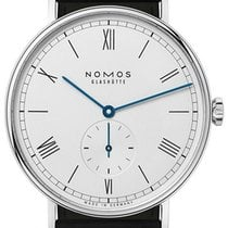 NOMOS Ludwig 38 Staal 37.5mm Wit