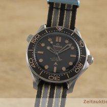 Omega Seamaster Diver 300 M occasion 42mm Brun Textile