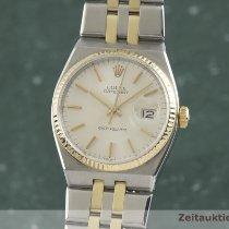 Rolex Datejust Oysterquartz Zlato/Zeljezo 36mm Srebro
