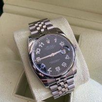 Rolex Datejust Stål 36mm Sort