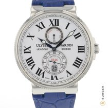Ulysse Nardin Marine Chronometer 43mm Сталь 43mm Белый Римские