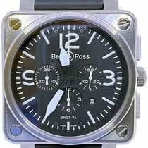 Bell & Ross BR 01-94 Chronographe Steel 46mm Black No numerals United States of America, Florida