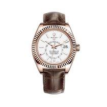 Rolex Sky-Dweller Rose gold 42mm White United States of America, New York, New York