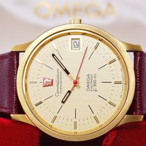 Omega Constellation new 1970 Quartz Watch with original box 198.003
