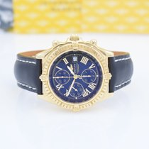Breitling Crosswind Racing Yellow gold 44mm Black Roman numerals