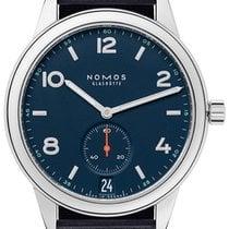 NOMOS Club Automat Datum Acier 41.5mm Bleu Arabes