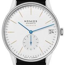 诺莫斯 Orion Neomatik 鋼 40.5mm 白色