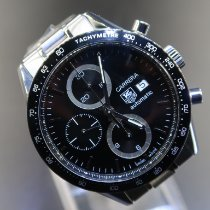 TAG Heuer Carrera Calibre 16 Steel 41mm Black No numerals Malaysia, Malaysia