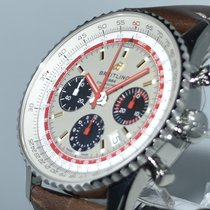 Breitling Navitimer 1 B01 Chronograph 43 Steel 43mm Silver No numerals