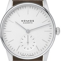 NOMOS Orion 33 Steel 32,8mm White