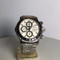 Ebel 1911 Discovery occasion 43mm Argent Chronographe Date Affichage des jours Acier