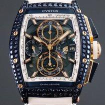 Cvstos new Automatic 53,70mm Steel Sapphire crystal