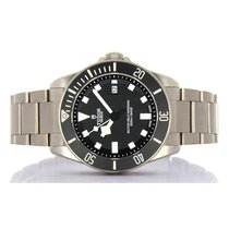 Tudor Pelagos Steel 40mm Black No numerals
