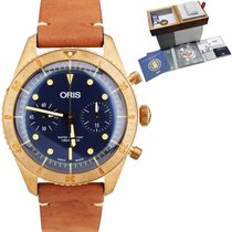 Oris Carl Brashear Bronze 43mm Blue United States of America, New York, Massapequa Park
