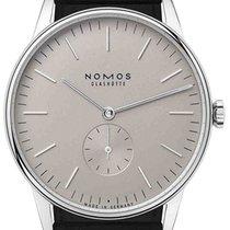 NOMOS Orion 38 Steel 38mm Grey No numerals