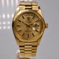 Rolex Day-Date 36 Gelbgold 36mm Gold Keine Ziffern Deutschland, Frankfurt