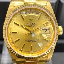 Rolex Day-Date 36 Gelbgold 36mm Gold Keine Ziffern Deutschland, Düsseldorf