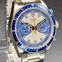 Tudor (チューダー) ヘリテージ クロノ ブルー ステンレス 42mm ブルー