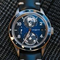 Montblanc Titanium Automatic Blue Arabic numerals 42mm new 1858