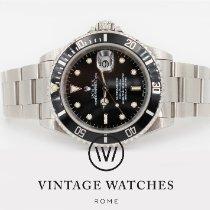 Rolex Submariner Date Steel 40mm Black No numerals