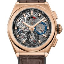 Zenith Rose gold Automatic No numerals new Defy
