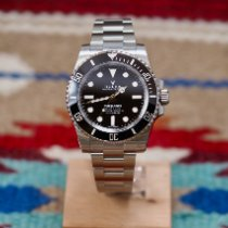 Rolex Submariner (No Date) Aço 40mm Preto Sem números