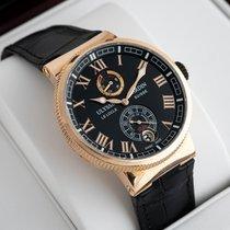 Ulysse Nardin Marine Chronometer Manufacture Rose gold 43mm Black United States of America, New Jersey, Englewood