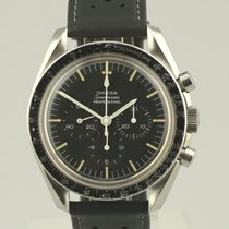 Omega Speedmaster Professional Moonwatch pre-owned Black Leather