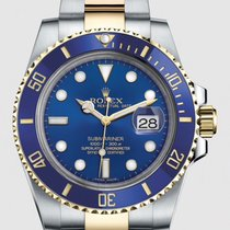 Rolex Submariner Date Gold/Steel 40mm Blue No numerals United States of America, New York, Yonkers