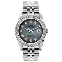 Rolex Datejust pre-owned 26mm Mother of pearl Date Steel
