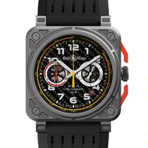 Bell & Ross Steel Automatic 42mm new BR 03-94 Chronographe