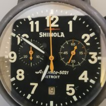 Shinola Acier 47mm Quartz S01 002 00782 occasion