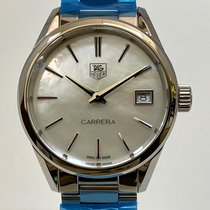 TAG Heuer Carrera Lady Steel 32mm Mother of pearl No numerals United States of America, California, Cerritos
