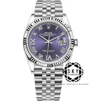 Rolex Datejust Steel 36mm Black No numerals United States of America, New York, New York