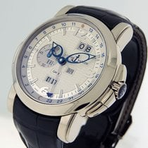 Ulysse Nardin GMT +/- Perpetual White gold 42mm Silver No numerals United States of America, California, Los Angeles