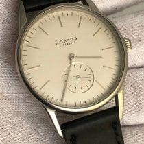 NOMOS Orion pre-owned 35mm White Leather