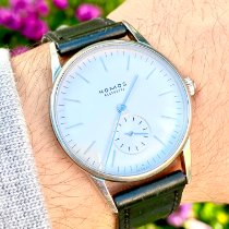NOMOS pre-owned Manual winding 35mm White Sapphire crystal 30 ATM