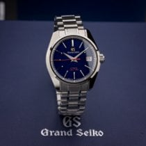 Seiko Grand Seiko Steel 40mm Blue No numerals United States of America, Texas, Austin