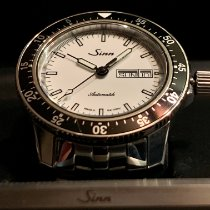 Sinn 104 Steel 41mm White No numerals United States of America, Washington, Woodinville