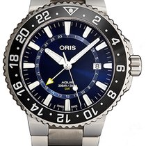 Oris Aquis GMT Date Steel Blue United States of America, New York, Brooklyn